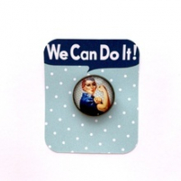 Broche We Can Do It